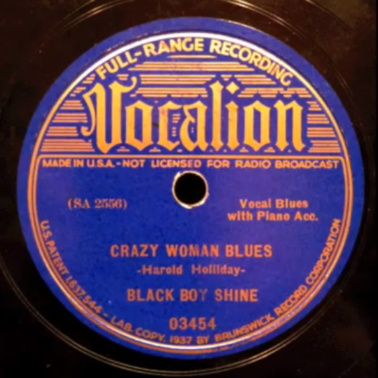Crazy Woman Blues
