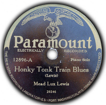 Hony Tonk Train Blues